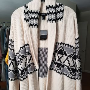 *NWT* Winter Cardigan with tie